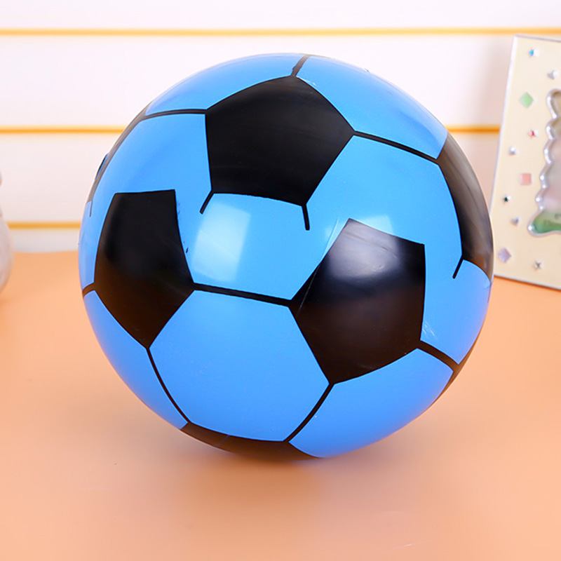 2pcs Inflatable Football Toy 20cm Holiday Pool Football For Child Party Swimming Garden Beach Ball Toy Kid Play Game Ball image