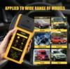 AUTOOL Car Battery Tester with Thermal Printer 12v 24V 36V Vehicle Auto Multi-language Battery Tester Analyzer Diagnostic promo