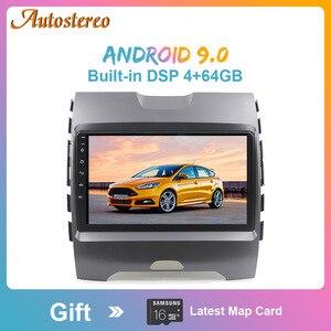 Автомобильный мультимедийный плеер PX6, Android 9,0, GPS, навигация, без DVD-плеера, для Ford Ranger 2015 +