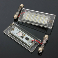 2 Pcs/set Error Free LED License Plate Light Lamp Fits For BMW X5 E53 X3 E83 03 09 Series License Plate Light|Truck Light System|Automobiles & Motorcycles -