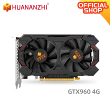Graphics-Card Video-Car HUANANZHI GTX960 GDDR5 128bit HDMI 4G 6600mhz 1127mhz 1024units