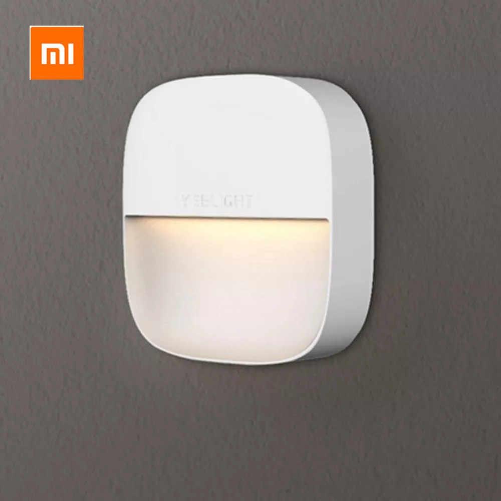 Mijia Yeelight YLYD09YL Square Cahaya Dikendalikan Smart Sensor Night Light Konsumsi Daya Ultra Rendah AC220V