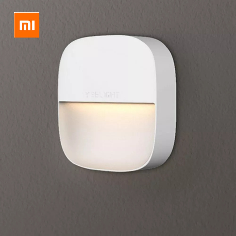 Mijia Yeelight YLYD09YL Square Light-controlled smart Sensor Night Light Ultra-Low Power Consumption AC220V title=