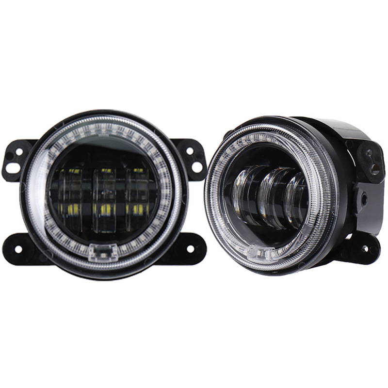 The Vectra 30 W Round Belt Aperture LED Fog Lamps Before 4