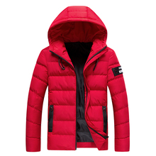 2019 Winter Jacket Men Hooded Thick Warm Jacket Fa