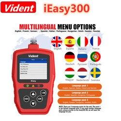 VIDENT iEasy300 CAN OBDII/EOBD Code Reader Free Update Online