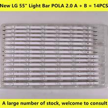 14pcs x LED Backlight for LG LA62M55T120V12 55LN5400 55LN6200 55LN5600 55LN5710 55LN5750 55LA6205 55LA6200 55LA6210 55LA6208