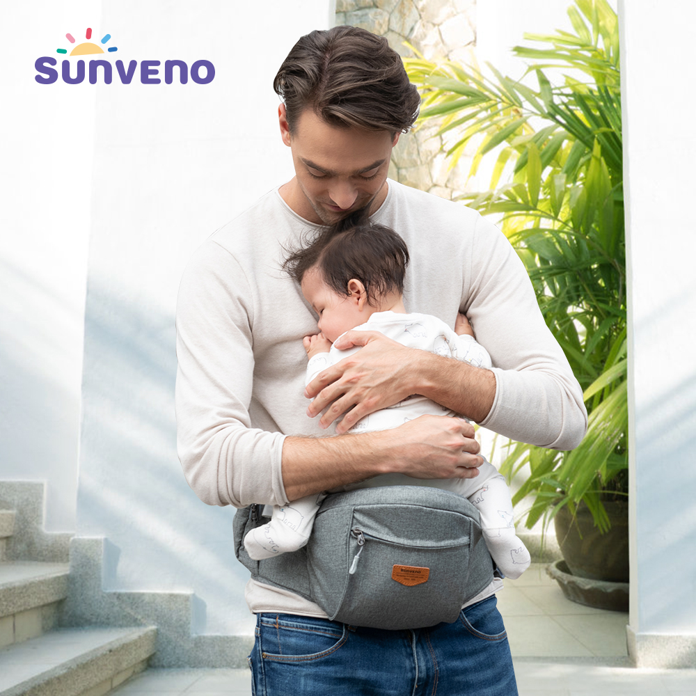 Sunveno Baby Infant Hip Seat Carrier, Toddler Waist Seat Stool Carrier Convinient Baby Front Carrier