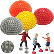 Детские инфляция полушарии дуриан подошвы обуви мышечный Стресс Расслабляющий массаж мяч игрушка для хват тренировочный