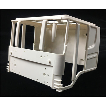 Replacement Trailer Truck Cab Simulation Tractor Model Cockpit Body Shell for 1/14 TAMIYA Scania R470 R620 RC Tractor Parts