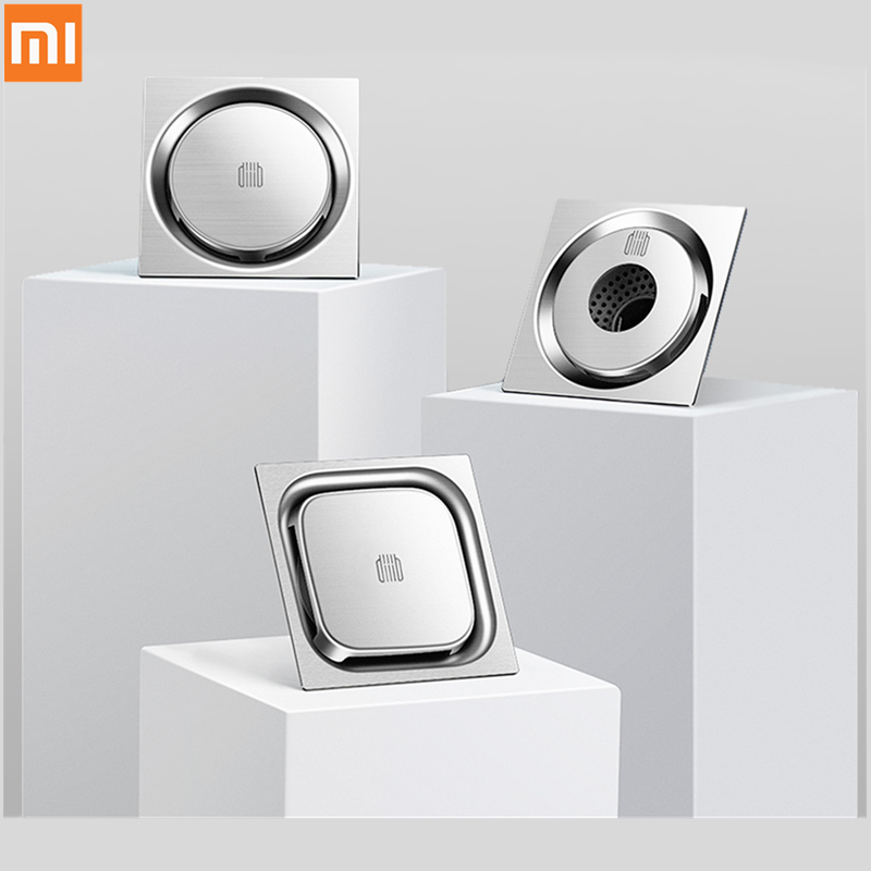 Xiaomi Mijia DaBai DiiiB Floor Drain Deodorant Insect Proof 304 Stainless Steel Swirling Drainage