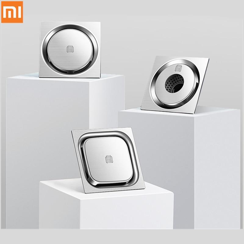 Xiaomi Mijia DaBai DiiiB Floor Drain Deodorant Insect Proof 304 Stainless Steel Swirling Drainage