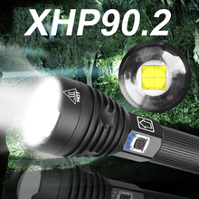 Bright XHP90.2 Most Powerful LED Flashlight Torch XHP90 Tact