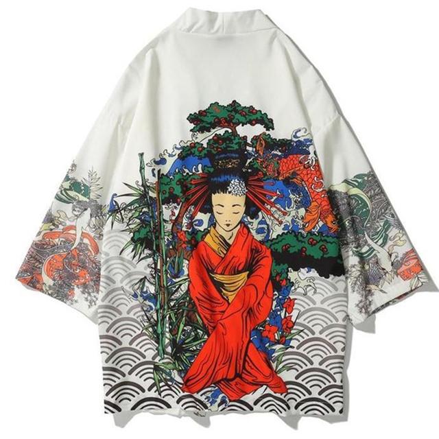 Japanese Robe, Loose Kimomo Style For Men