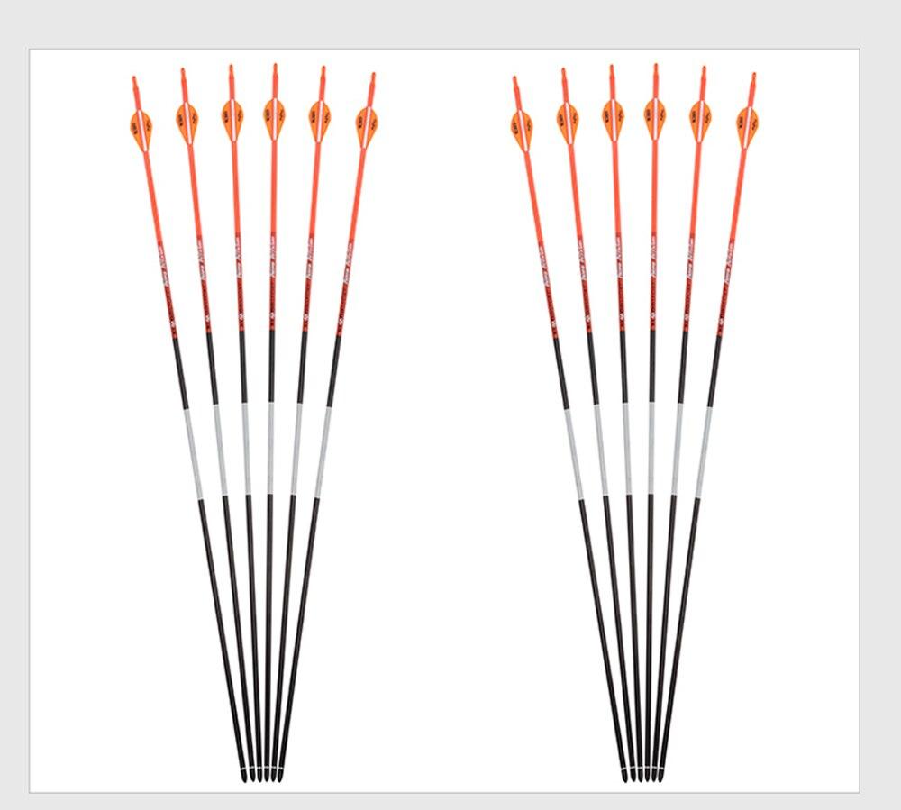 Caça arco e flecha material de carbono