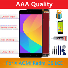 Original 5.0'' LCD For Xiaomi Redmi 3 Lcd Display Screen Replacement For Redmi 3 3S LCD Digiziter Aseembly