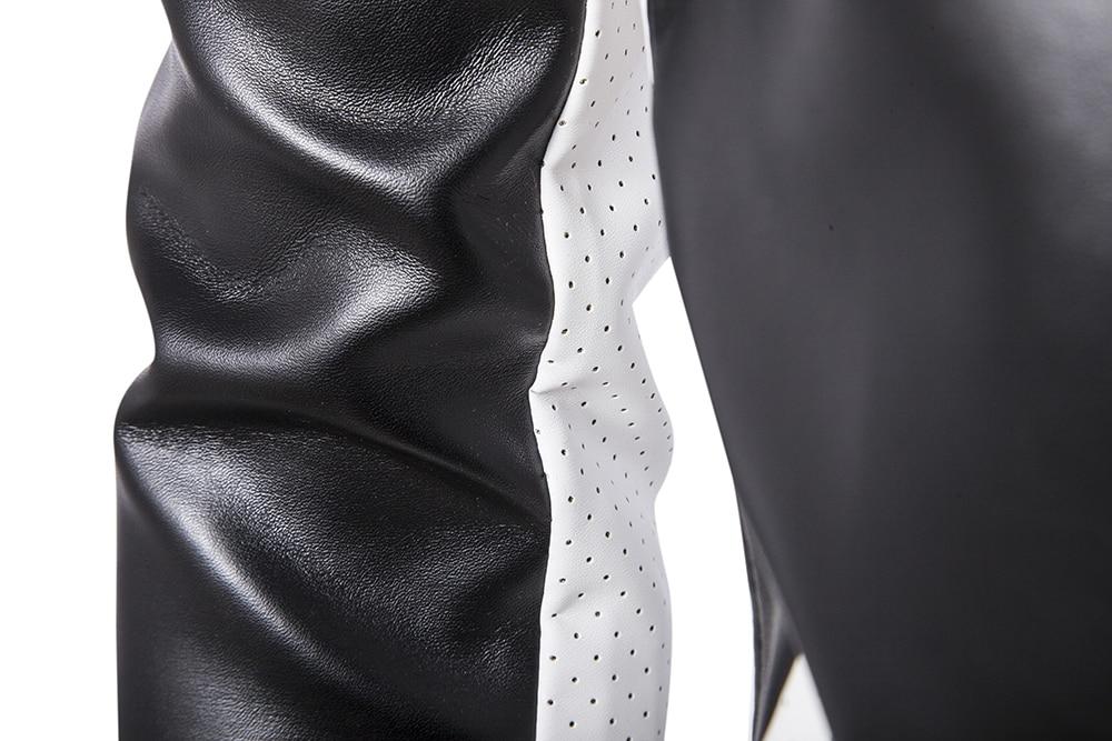 Американская уличная мода, мужская куртка, высшее качество, брендовая Дизайнерская куртка на молнии в стиле хип хоп, Мужская джинсовая курт... - 5