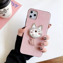 For Samsung galaxy J2 J4 J6 J5 J7 prime J5prime J6prime J7prime phone case Mink air Cat plush Essentials Fur cover(China)