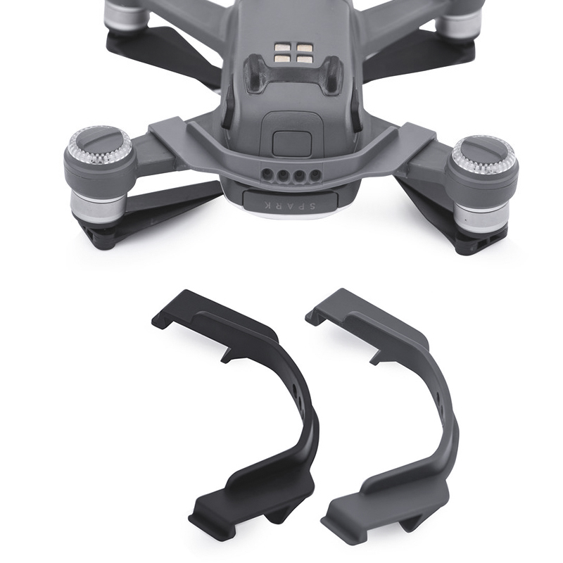Flight Battery Buckle Fuselage Protective Mount For DJI Spark Drone Anti-slip Strap Cover Protector Safety Locker Guard Mount