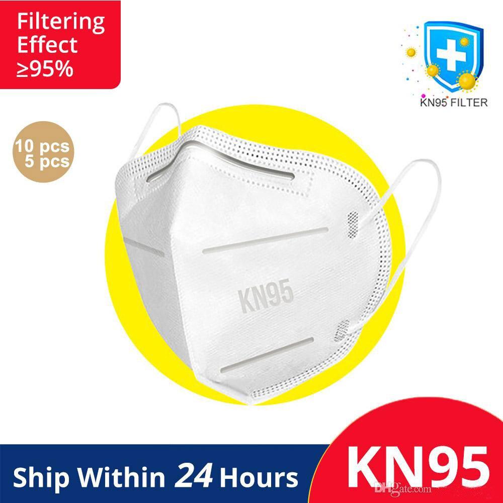 Wholesale KN95 Face Mask Mascherine Maschera Maske Máscara Masque N95 Masks Disposable Face Mask Breathable Face Masks