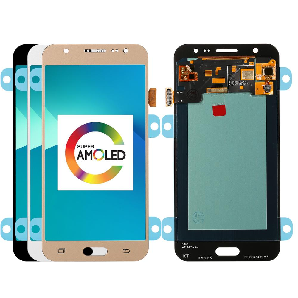 For Samsung Galaxy J5 2015 <font><b>J500</b></font> SM-J500F J500FN J500H J500M Super <font><b>Amoled</b></font> LCD Display+Touch Screen Digitizer Assembly Replacement image