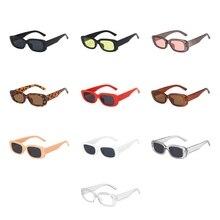 Unisex Square Fashion Vintage okulary przeciwsłoneczne Outdoor Driving Travel okulary w stylu Retro UV okulary ochronne odcień