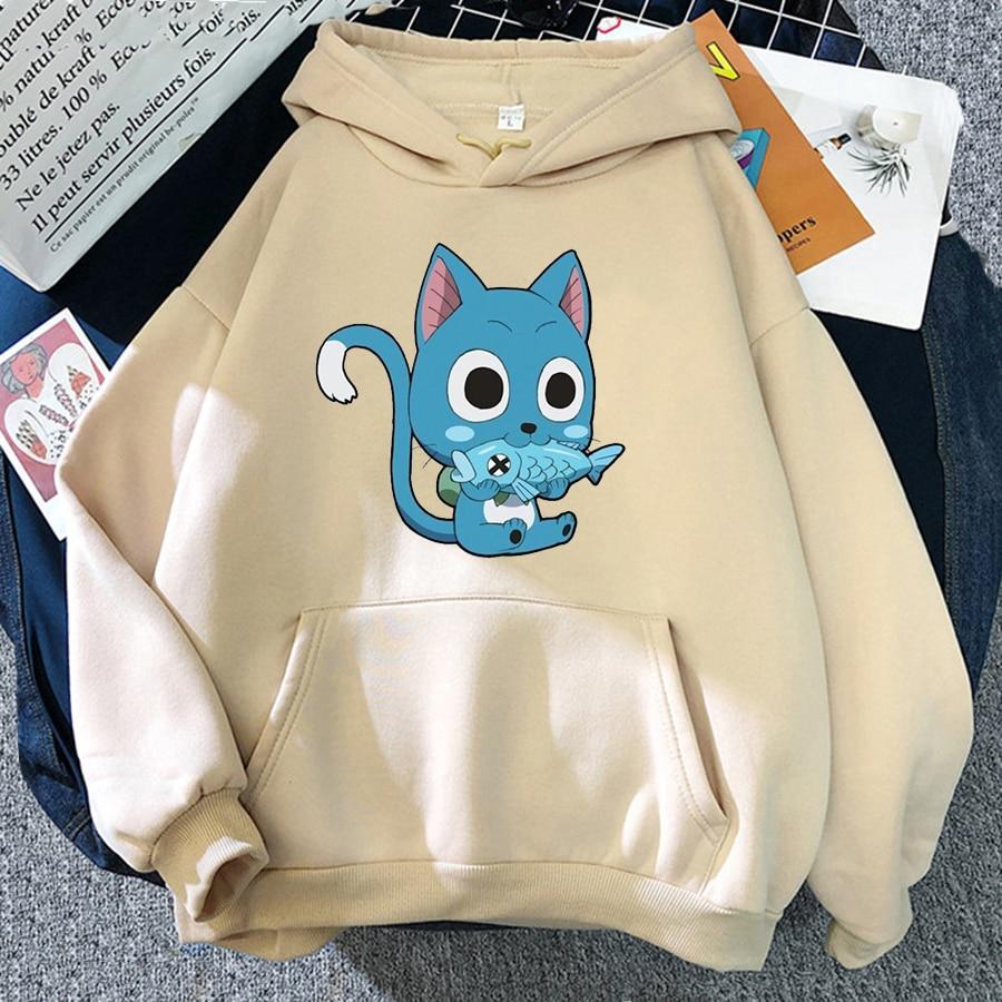 Japanese Anime Fairy Tail Hoodie Women Hoodies Casual Pullover Hoodied Harajuku Sweatshirt Plus Size Hoody 9