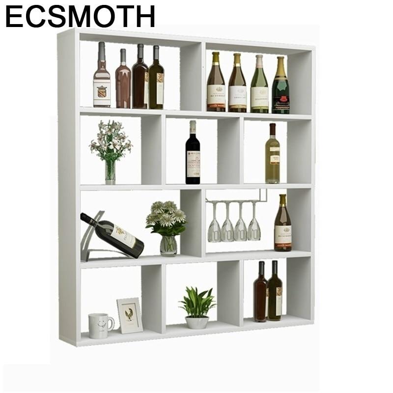 Gabinete Cocina Kast Dolabi Adega Vinho Desk Shelf Cristaleira Hotel Storage Mesa Mueble Commercial Furniture Bar Wine Cabinet