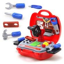 Игрушки для детей девочки, мальчики, дети, ролевые игры, Игрушки для маленьких мальчиков и девочек, моделирование, ремонт, набор инструментов, игровой дом, игрушки