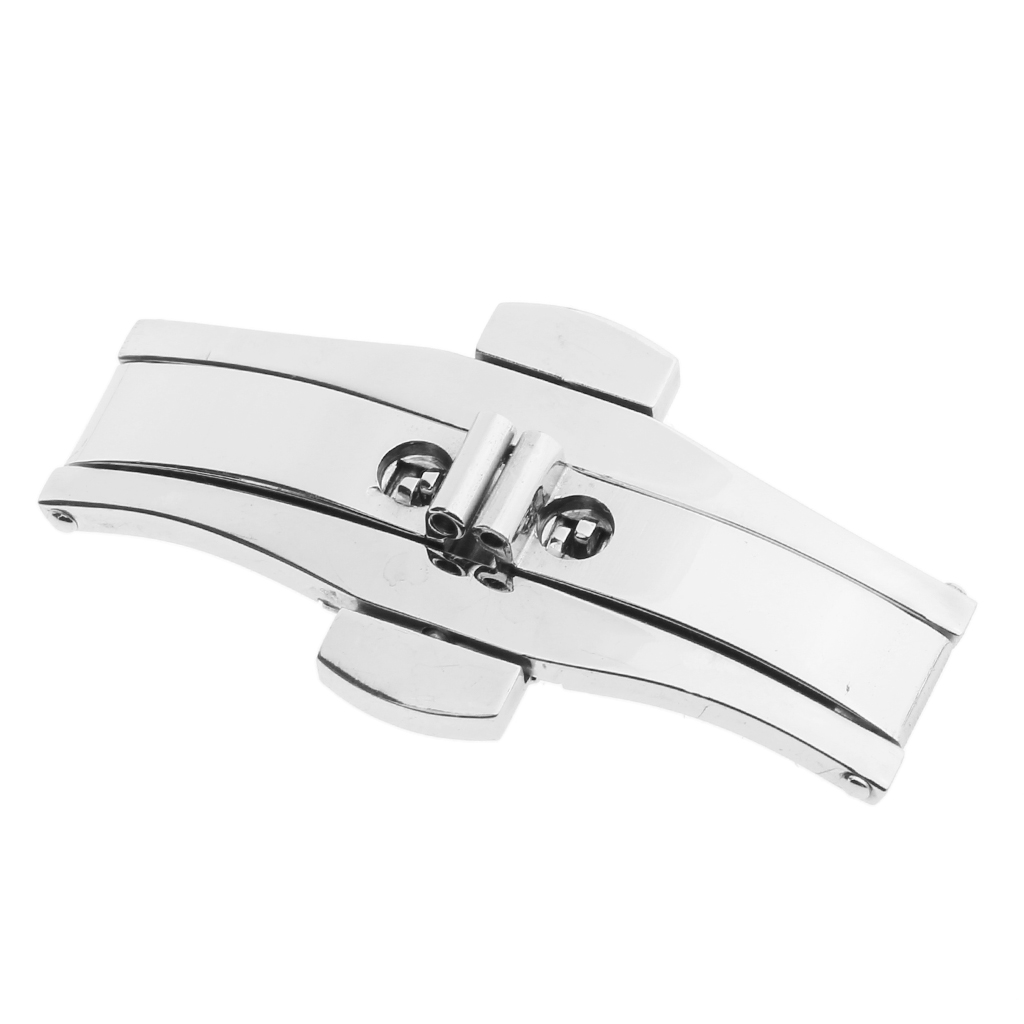 Watch Maker Butterfly Buckle Stainless Steel Clasp DIY Watch Accessories 21 x 6 mm