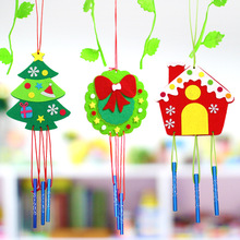 Wind-Bell Chime Pendant-Materials DIY Toy-Decorative Manual-Craft Handmade Children Non-Woven