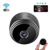 1080P WIFI IP ev güvenlik gece görüş hareket algılama Mini IP kamera kablosuz kamera uzaktan kumanda ile kapalı akıllı kontrol