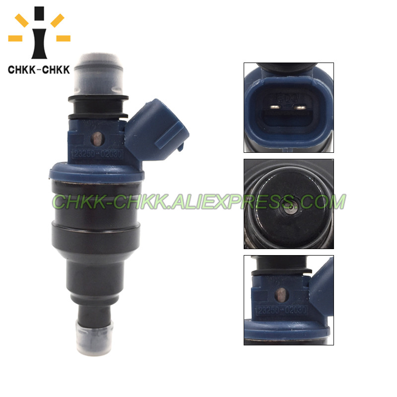 CHKK CHKK 23250 02030 23209 02030 0280150439 fuel injector for TOYOTA Carina 1 6L 4AFE 1994 1997 in Fuel Injector from Automobiles Motorcycles