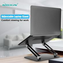 NILLKIN Laptop Stand Aluminium Alloy ,Adjustable Multi-Angle Laptop Holder Heat Release Foldable For 10-17inch Notebook Stand