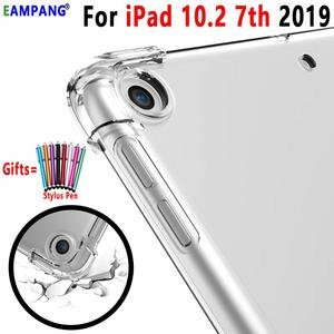 For iPad 10.2 Case Drop Resistance Soft TPU Silicon Cover for Apple iPad 10.2 2019 7th Generation A2200 A2198 A2232 A2197 Funda(China)