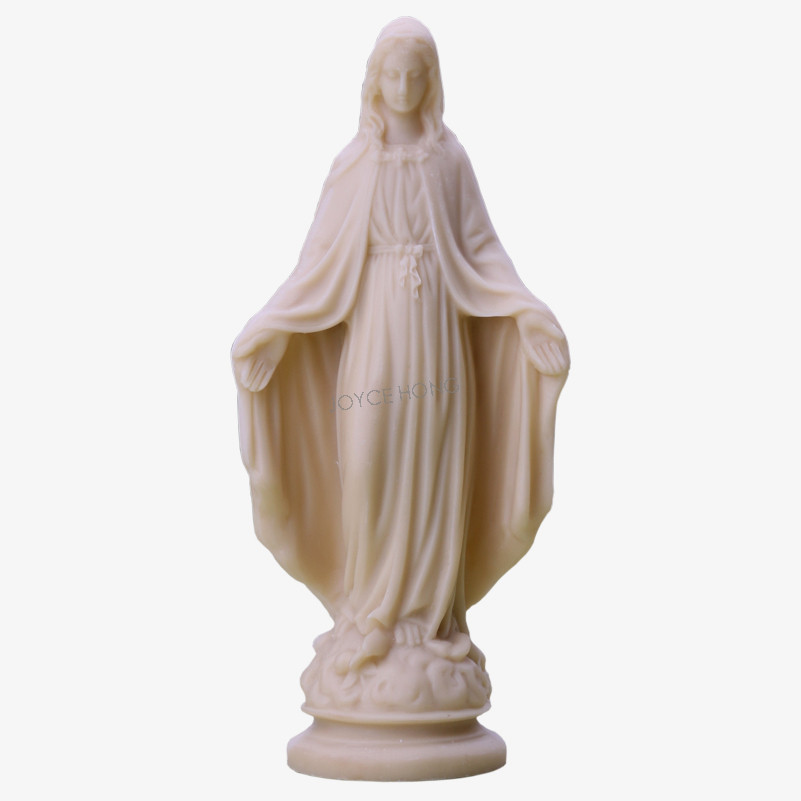 Virgin Mary Statue Figure Figurine Resin Our Lady Of Lourds Saint
