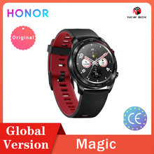 Honor Horloge Magic Smartwatch Gps 5ATM Waterdicht Hartslag Tracker Werken 7 Dagen Bericht Herinnering راقب Assistir Часы