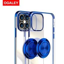Fall Für iPhone 12 Pro Fall Nette Abdeckung Für iPhone 12 Pro Max Mini 11 XR X S XS Max 7 8 Plus Magnet Ring Halter Telefon Fall Stehen