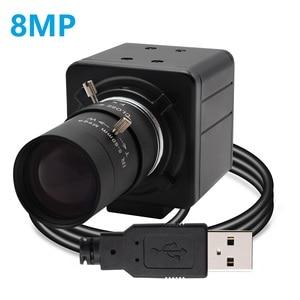 CCTV варифокальный объектив 5-50 мм 8 мегапиксельная SONY (1/3.2 '' ) IMX179 Windows,Android,Linux Raspberry Pi PC веб-камера 8mp Mini USB камера