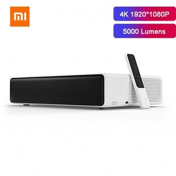 Xiaomi mi mijia projetor a laser 4k 1920*1080p completo projetor hd 5000 lumens 2gb 16 bluetooth prejector cinema em casa beamer