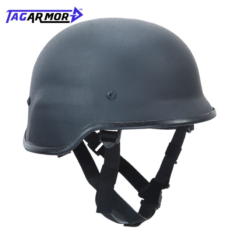 NIJ IIIA Military Police Steel PASGT Bulletproof Combat Helmets Army Training Ballistic Helmet