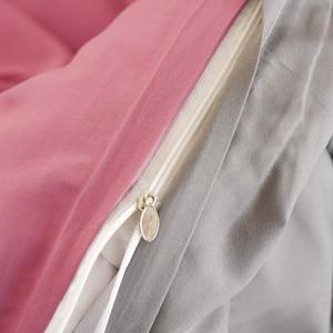 Image 5 - 1 قطعة 100% غطاء لحاف من القطن بلون الملكة الملك الحجم غطاء لحاف سرير واحد مزدوج فندق فراش سرائر للمنازل المادة شحن مجاني
