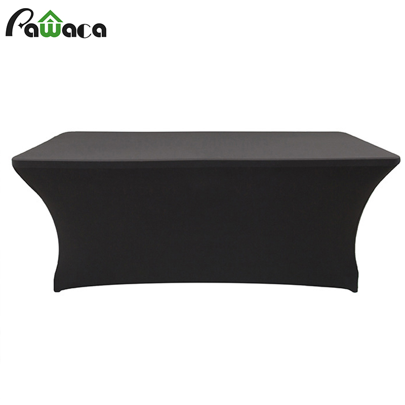 Table Cloth Rectangular Fitted Spandex Tablecloths Wedding Party Table Cover Event Elastic Stretchable Tablecloth Desk Cloth