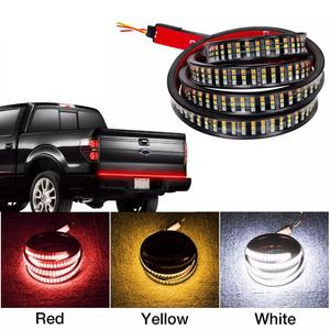"60"" Car Flexible LED Strip Light Tailgate Light Bar Pickup Trailer Taillight Turn Signal Light Reverse Brake Light 12 W"