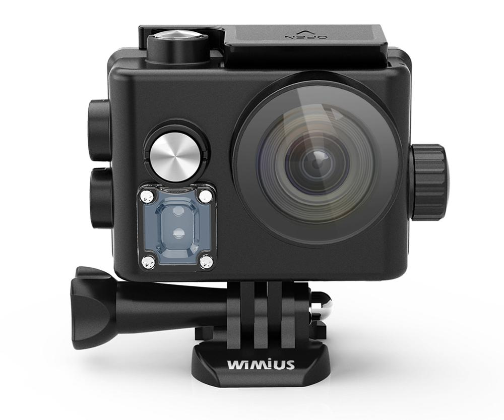 Action Kamera Ultra HD 4K / 30fps 30 Meter Unterwasser Wasserdichte Cam Helm Vedio gehen Sport pro Cam 170D video Rekord