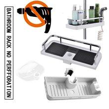 Półka łazienkowa półka po prysznic półka na szampon podnośnik łazienkowy półka na półkę półka łazienkowa tanie tanio CN (pochodzenie) Wall Mounted Type Pojedyncze
