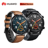 Global Version HUAWEI Smart Watch GT Waterproof Heart Rate Tracker Support NFC GPS Man Sport Tracker SmartWatch