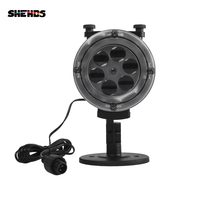 SHEHDS Professional Lighting Design Waterproof Remote Control LED Change Card Projector-White Best For Christmas/ Halloween