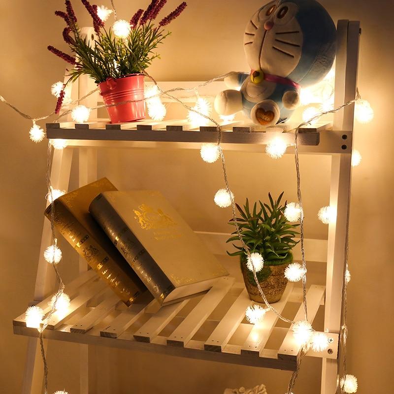 dandelion led string lights ferias luzes 05