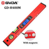 Digital Protractor Angle Finder Inclinometer Electronic Level Box 360 degree Magnetic Base Measuring Tool Slope Test Ruler 400mm